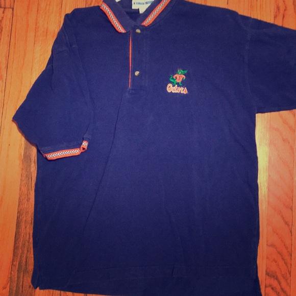detailed look ee0ee 4878d Vintage University of Florida Gators polo shirt